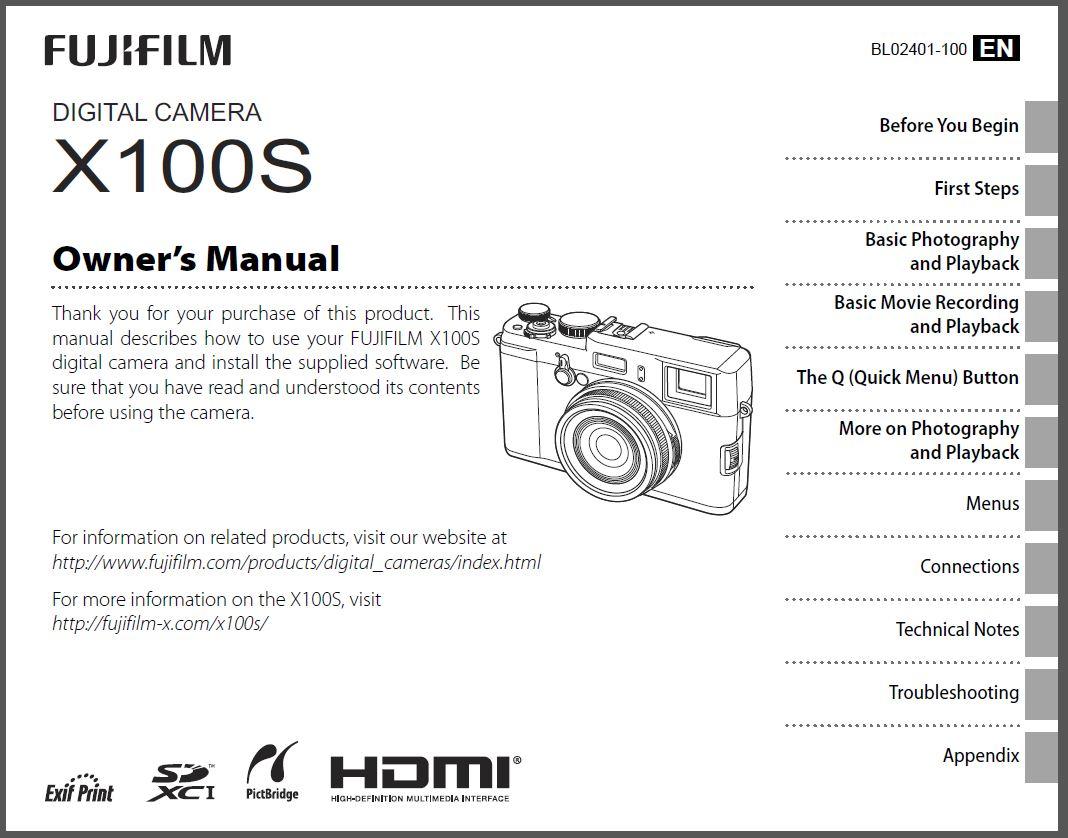 Manual 100s